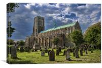 St Edmund King and Martyr Southwold, Canvas Print