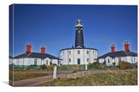 Dungeness Old Lighthouse, Canvas Print