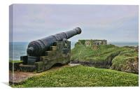St Catherine's Fort Tenby, Canvas Print