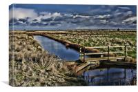 Capel Fleet Landscape, Canvas Print