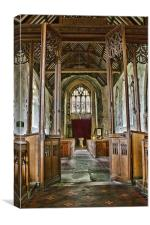 St Peter And St Paul Charing, Canvas Print