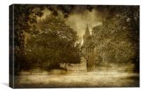 St Margarets Wychling, Canvas Print