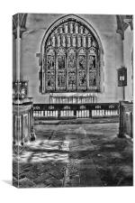 St Mary Westham, Canvas Print