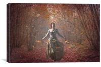 Mostly Autumn, Canvas Print