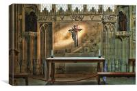 In The Chapel, Canvas Print