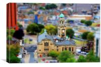 Chatham Town Hall In Miniature, Canvas Print