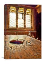 In The Vestry, Canvas Print