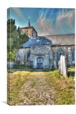 St Michael and All Angels East Peckham, Canvas Print
