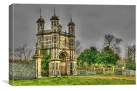 Eastwell Towers, Canvas Print