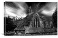 St John The Baptist Tidebrook, Canvas Print