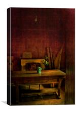 Empty Vestry, Canvas Print