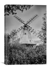 Shipley Mill, Canvas Print