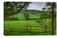 The Long Man Of Wilmington, Canvas Print