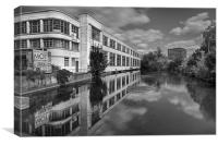 Rootes Reflected, Canvas Print