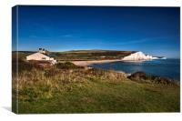 View From Coastguards Cottages, Canvas Print