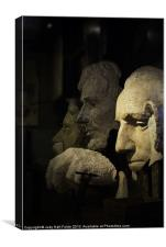 Faces of Rushmore, Canvas Print