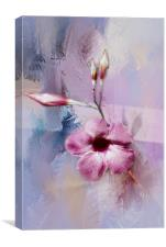 Painted Flowers, Canvas Print
