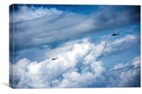 Copters over the Atlantic, Canvas Print