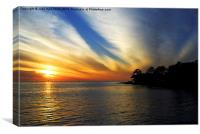 Gulf of Mexico Sunset, Canvas Print