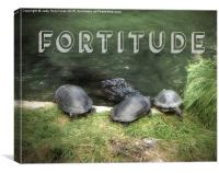 Fortitude, Canvas Print