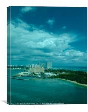 View from Port Everglades, Canvas Print