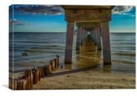 Fort Myers Beach, Canvas Print