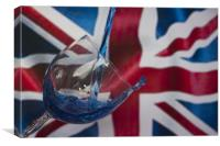 Bottoms Up Britain, Canvas Print