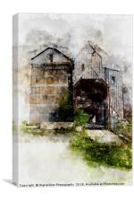 Relict of the Mills, Canvas Print