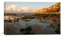Early Evening Hunstanton, Canvas Print