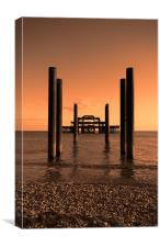 Brighton Pier iPhone Case, Canvas Print