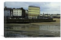 Reflections on Margate Beach, Canvas Print
