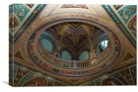 Magnificent Dome Ceiling, Canvas Print