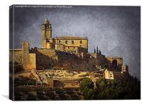 Alcala de la Real, Canvas Print