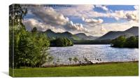Derwentwater From Crow Park Keswick, Canvas Print