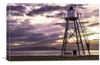 Silloth Lighthouse, Canvas Print