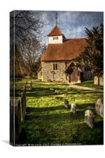 Church of St Mary Sulhamstead Abbots, Canvas Print