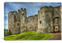 Gateway to Chepstow Castle, Canvas Print