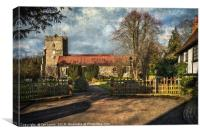 Holy Trinity Church Cookham, Canvas Print
