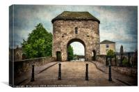 The Bridge At Monmouth, Canvas Print