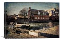 The Old Brewery Stables, Canvas Print