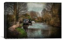 A Walk By The Kennet, Canvas Print