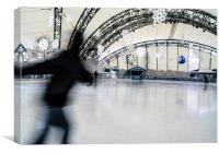the ice skater, Canvas Print