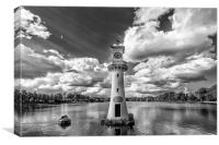 Roath park lake, Canvas Print