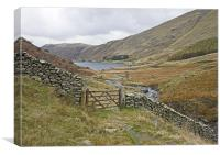 Haweswater footpath, Canvas Print