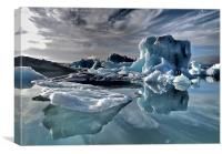 Dramatic Iceberg, Canvas Print