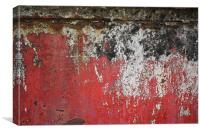 Black and Red, Canvas Print