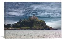 Saint Michael`s Mount, Canvas Print