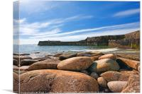 Lamorna Cove., Canvas Print