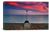Southsea Outflow, Canvas Print