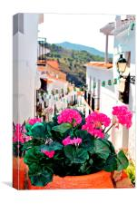 Frigiliana Andalusia Costa del Sol Spain, Canvas Print